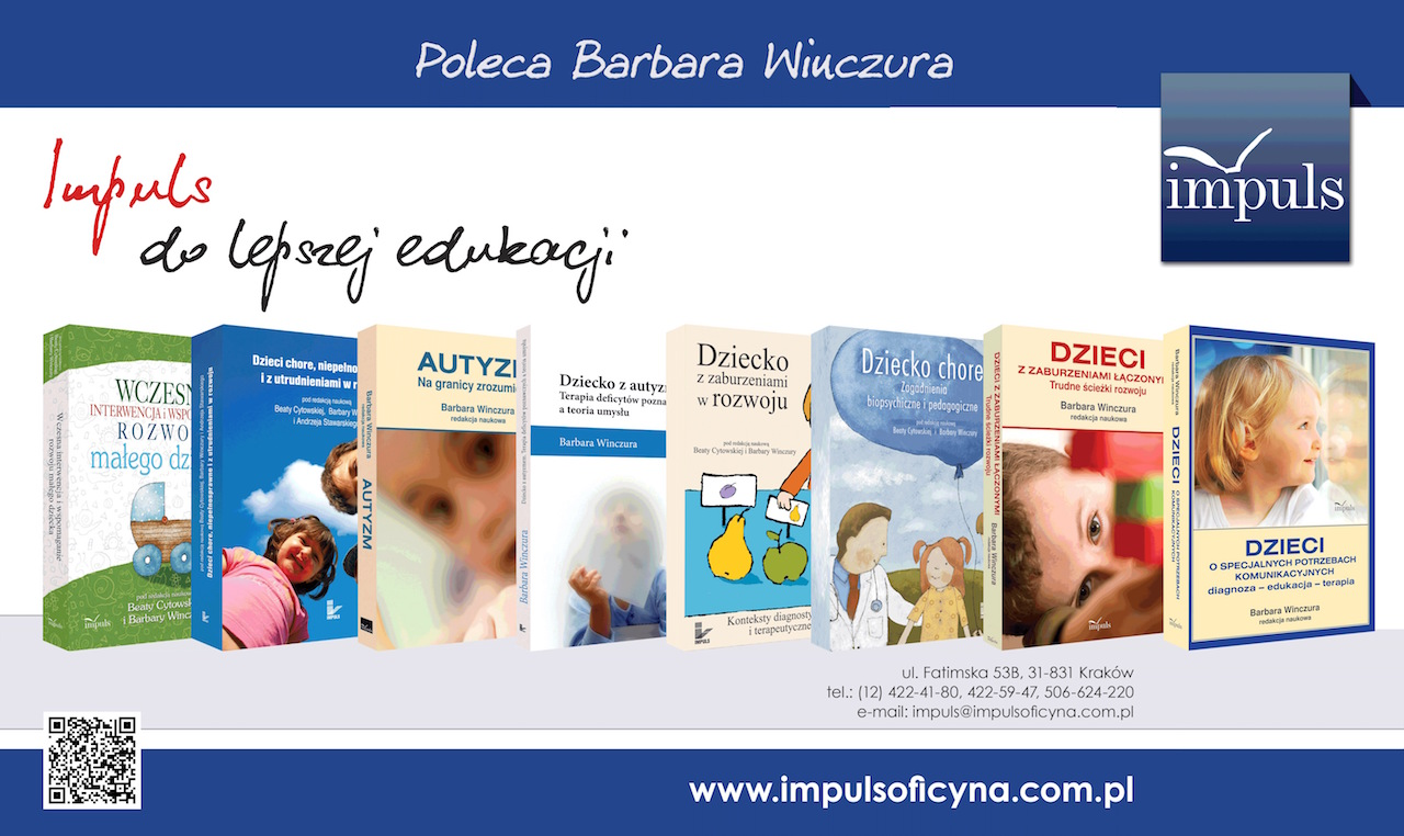 Barbara Winczura poleca książki Oficyny Impuls